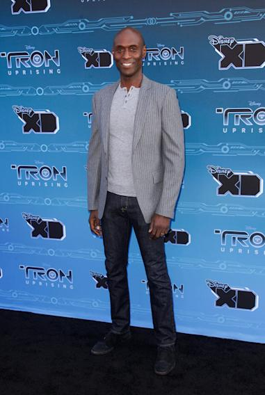 "Disney XD's ""TRON: Uprising"" Press Event - Lance Reddick"