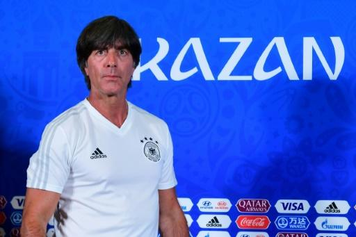 Joachim Loew says qualification for the World Cup last 16 is in Germany's hands