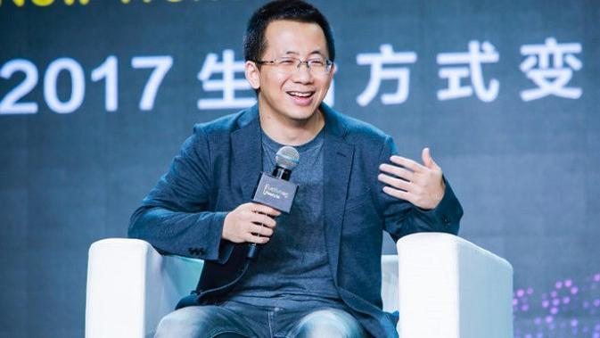 Zhang Yiming pendiri ByteDance selaku pembesut Tik Tok (sumber: pandaily.com)