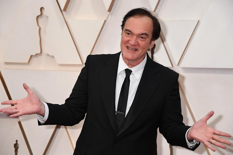 Writer-director Quentin Tarantino attends the 92nd Annual Academy Awards (Photo by Jeff Kravitz/FilmMagic)