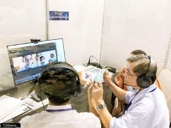 新北國際視訊採洽會二天創逾十五億元商機。(圖:新北經發局提供)