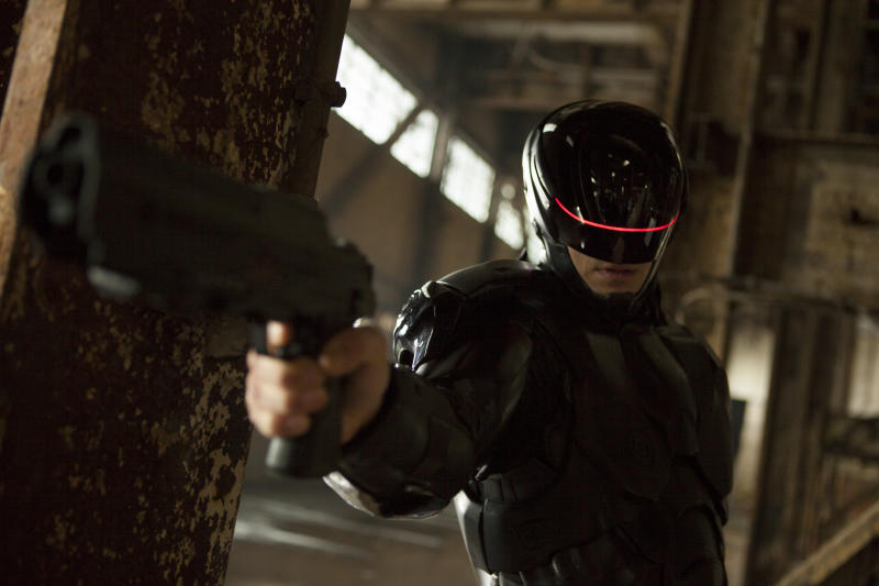 Exclusive 'RoboCop' Trailer Shows Off a (Literally) Hot New Robo-Suit