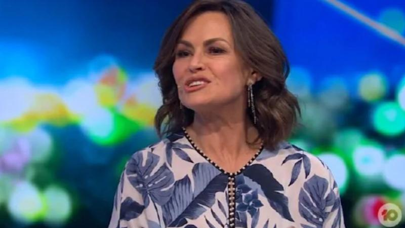 Lisa Wilkinson is reportedly keen to re-ink her lucrative contract with Channel 10. Photo: Channel 10/The Project