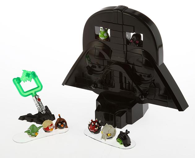 Angry Birds Star Wars Jenga Darth Vader