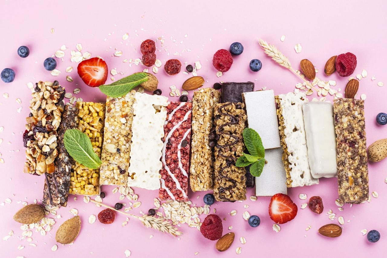 """<p>Looking for a quick on-the-go munch or post-workout bite? Protein bars are a portable snack that are great when you're in a pinch and need something to eat quick. But the protein bar aisle has become saturated with countless choices and lofty nutrition claims that can be overwhelming to decipher. And just because something has the word """"protein"""" in it does not make it automatically healthy. </p><p>So what makes a protein bar worthy of being on your grocery list? As a registered dietitian, ingredients are always at the forefront of any testing I do. After analyzing dozens of protein bars in our <a href=""""https://www.goodhousekeeping.com/health/a40988/the-good-house-keeping-food-nutrition-brand-lab/"""" target=""""_blank"""">Good Housekeeping Institute's Nutrition Lab</a>, our choices focused on protein bars with a <strong>readable list of ingredients</strong> and a <strong>whole grain or whole food (i.e. nuts, oats, legumes, etc) as the first ingredient. </strong></p><p><strong>We capped calories at 300 per bar</strong>, and looked for choices with <strong>no more than 10 grams of added sugar. </strong>In order to be considered a protein bar, we required at least <strong>10 grams of protein per serving. </strong>We also feel that fiber is important to help keep you full and balance out the bar, which is why all choices on our list have <strong>at least 3 grams of fiber</strong> or more per serving. We also tried to keep <strong>sodium counts under 300mg per bar.</strong> </p><p>After careful consideration, we rounded up our top choices for the best protein bars of 2020:</p>"""