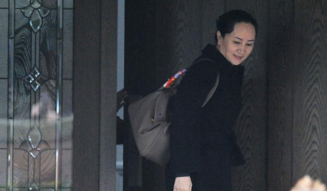 Meng Wanzhou is living in Vancouver in a US$10.4 million mansion that she owns. Photo: AFP