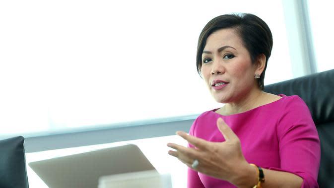Puteri Muslimah Indonesia, ajang kecantikan untuk wanita remaja berhijab ini kembali digelar. Selaku Direktur Program SCM, Harsiwi Achmad menuturkan alasannya mendirikan program ini. (Nurwahyunan/Bintang.com)