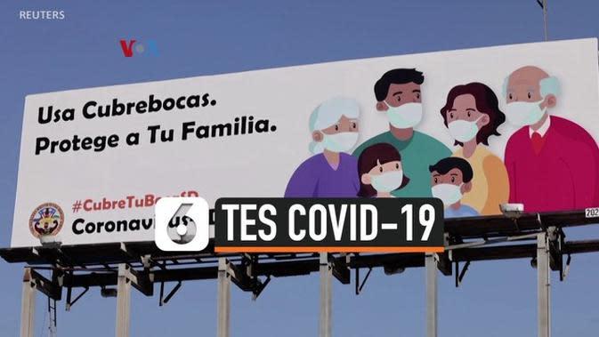 VIDEO: Tes Covid Gratis Bagi Pos Perbatasan Tersibuk di AS