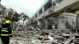 中國湖北省一社區發生燃氣爆炸 12人死、100餘人傷