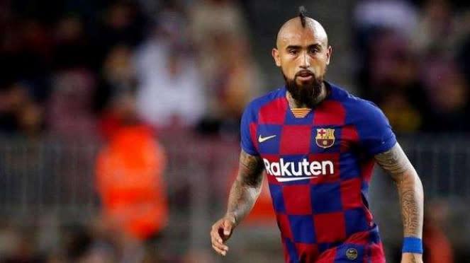 Gelandang Barcelona, Arturo Vidal