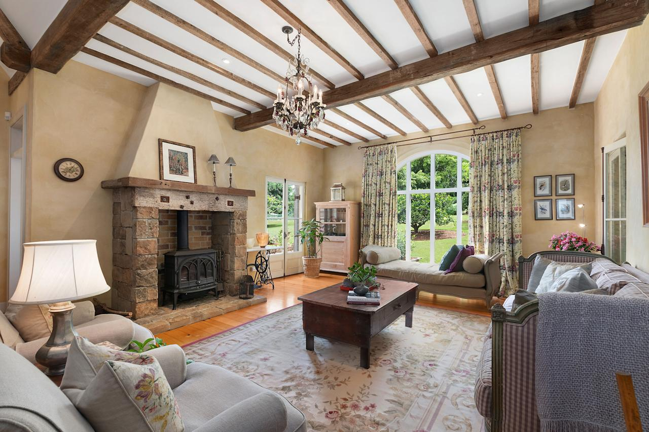 "<p>She has decribed the farm as a ""magical place"". Photo: Caters News/McGrath Real Estate </p>"