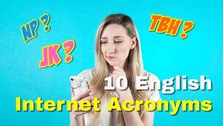 VT English | 網路聊天必用英文!三分鐘搞懂外國人最常用的網路英文縮寫 Useful English Internet & Texting Acronyms