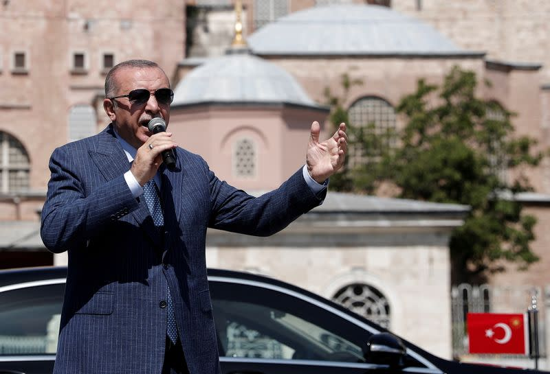 Erdogan says Greece 'sowing chaos' in Mediterranean