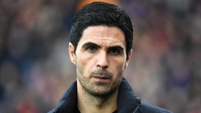 Pelatih Arsenal, Mikel Arteta. (Foto: AFP)