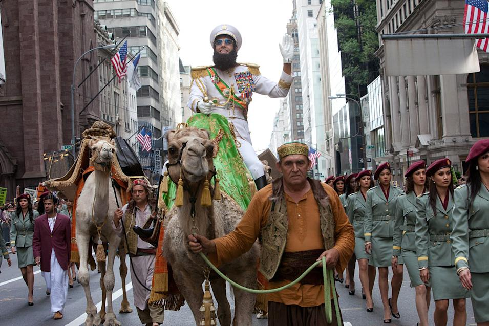 The Summers Buzziest Movies, The Dictator