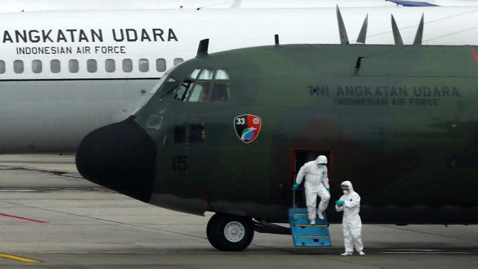 Pesawat Penjemput Alkes Covid-19 dari China ke JakartaSenin Besok