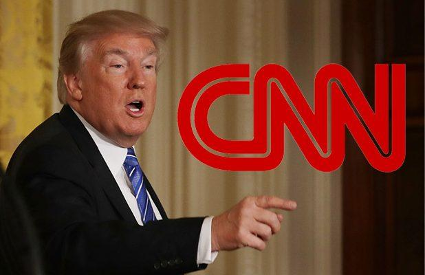 CNN Urges Trump to 'Be Better' After He Posts Phony Video of Network Story About Two Toddlers