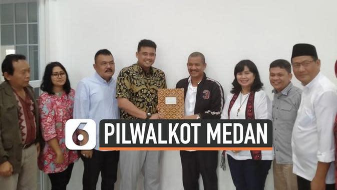 VIDEO: Bobby Nasution Maju di Pilwakot Medan 2020