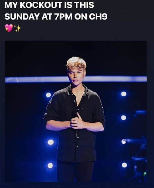 Jack made the gaffe on Instagram as he was trying to promote his upcoming appearance on The Voice.