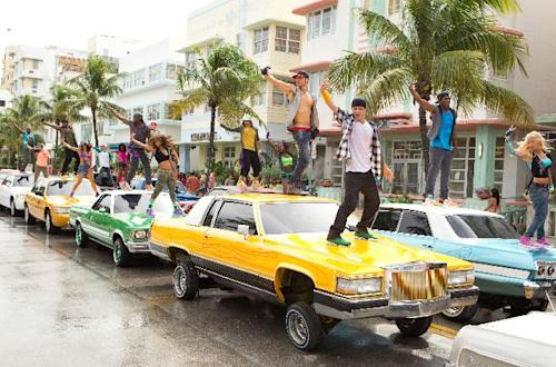 "This film image released by Summit Entertainment shows a scene from ""Step Up Revolution."" (AP Photo/Summit Entertainment, Sam Emerson)"