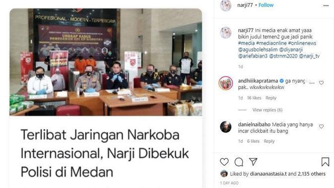 Klarifikasi Narji