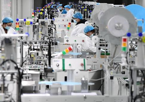 There are concerns that masks made in China are not subject to the same rigorous testing criteria as the versions produced in the United States. Photo: Xinhua