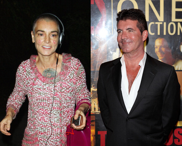 Simon Cowell Invites Sinead O'Connor to Guest-Judge 'The X Factor'