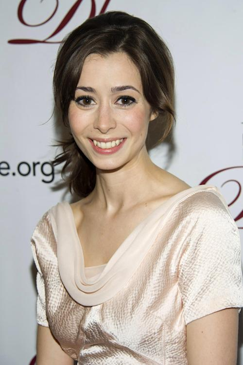 "FILE - This May 18, 2012 file photo shows actress Cristin Milioti at the 78th Annual Drama League Awards in New York. Milioti is nominated for a Tony Award for best actress in a musical for her role in ""Once."" The Tony Awards will be held on Sunday, June 10 on CBS. (AP Photo/Charles Sykes)"