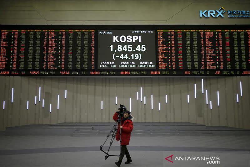 """Saham Korsel """"rebound"""" dengan indeks KOSPI ditutup bangkit 0,27 persen"""