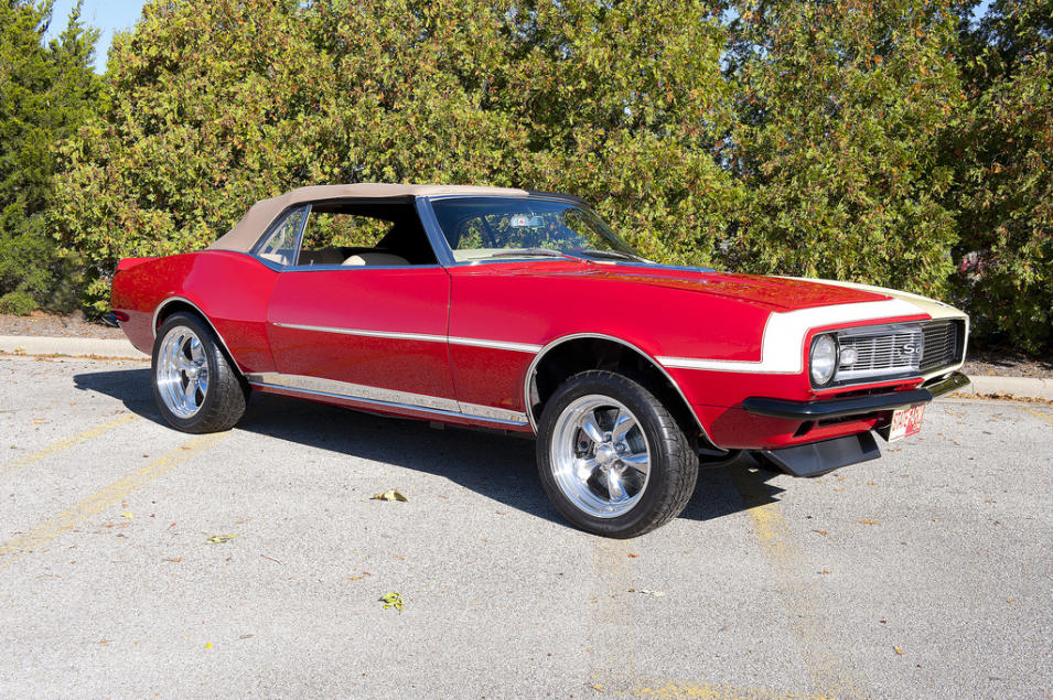 State Farm's Two-Sided 1968 Camaro