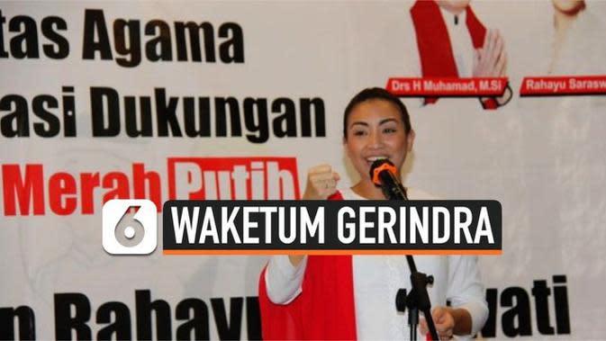 VIDEO: Rahayu Saraswati Ditunjuk Prabowo jadi Waketum Gerindra