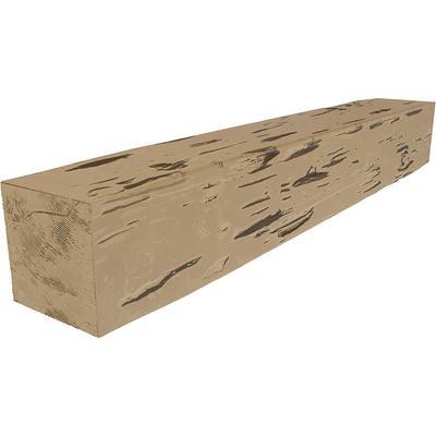 Ekena Millwork 4 In X 4 In X 14 Ft 3 Sided U Beam Pecky Cypress Burnished Pine Faux Wood Ceiling Beam Yahoo Shopping