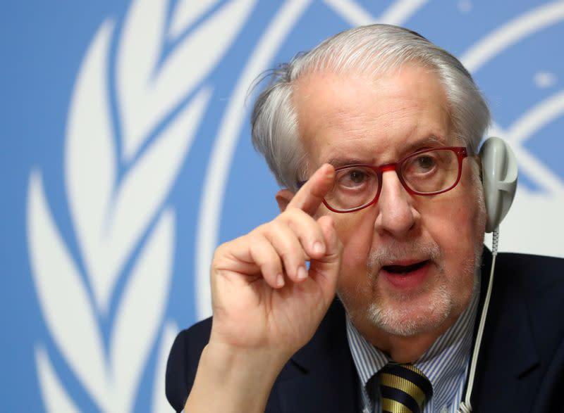 U.N. war crimes experts urge Turkey to rein in rebels in Syria