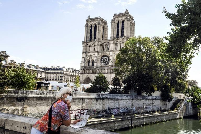 Notre-Dame crypt reopens with exhibition 18 months after blaze