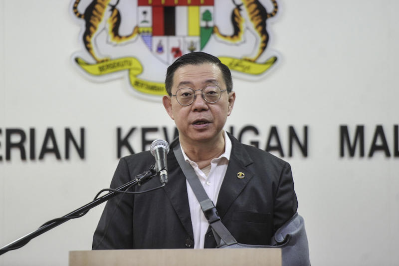 Finance Minister Lim Guan Eng said solid economic fundamentals and the commitment to institutional reforms have convinced Moody to retain the country's A3 sovereign credit rating with a stable outlook. — Picture by Shafwan Zaidon