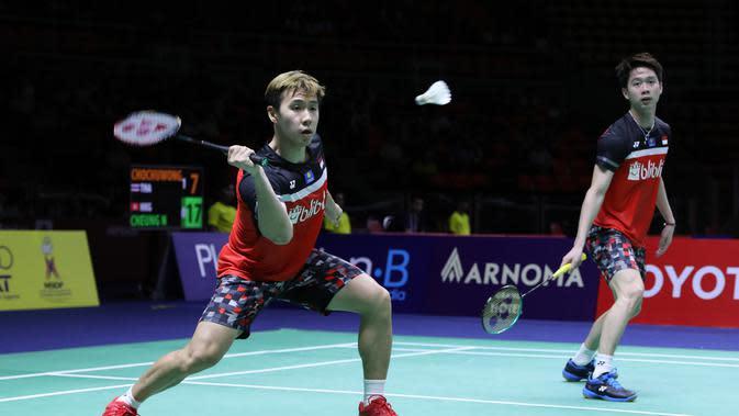 Menangi Duel Sengit, Kevin / Marcus ke Babak Kedua Indonesia Masters 2020