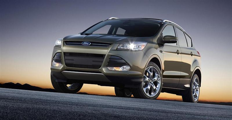 Ford Escape tops list of most-stolen SUVs