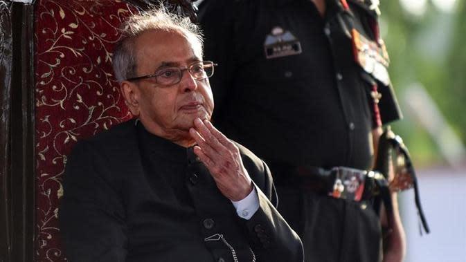 Pranab Mukherjee (AFP)