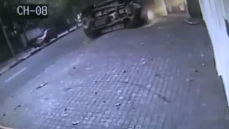 Lucky jogger escapes certain death in Brazil