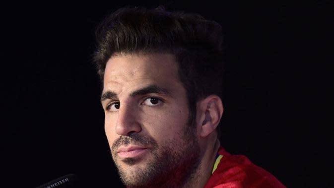 Gelandang Chelsea asal Spanyol, Cesc Fabregas. (AFP/Pierre-Philippe Marcou)
