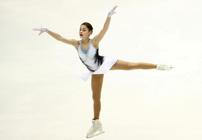 Russia's Alena Kostornaia has won her first NHK Trophy title in Sapporo