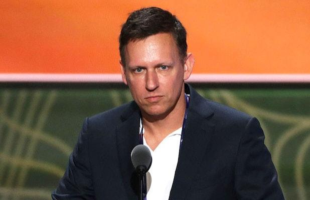 Peter Thiel Dined With White Nationalist While Supporting Trump Campaign (Report)