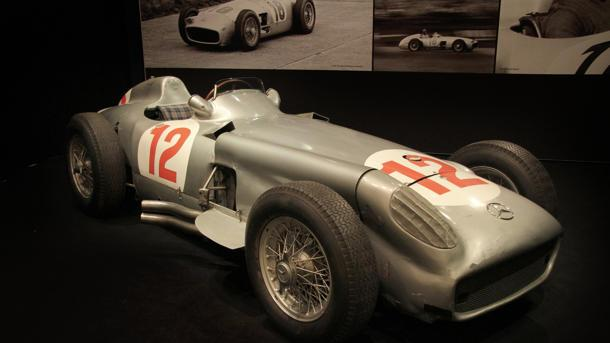 Juan Manuel Fangio's Grand Prix-winning Mercedes heads to auction