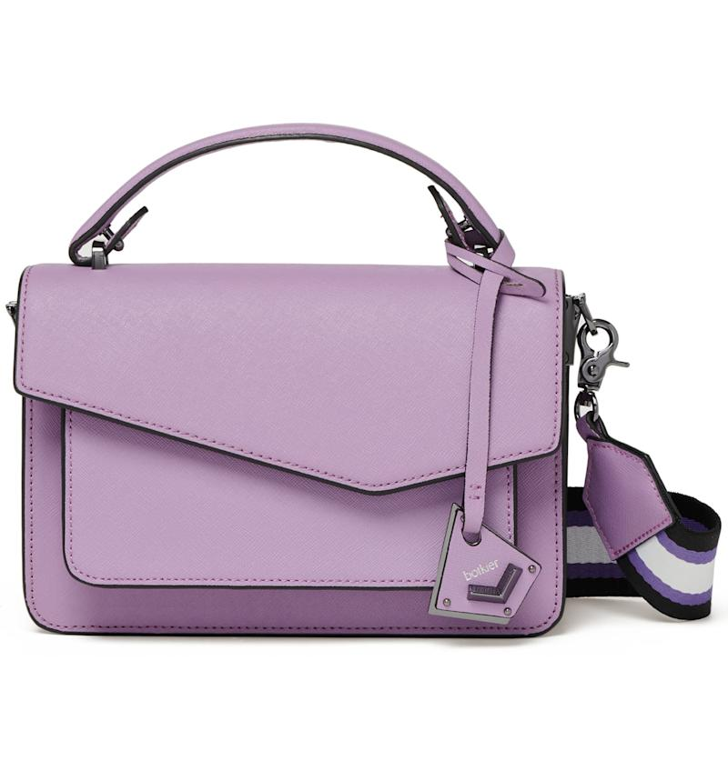 Botiker Cobble Hill Colorblock Leather Crossbody Bag. Image via Nordstrom.