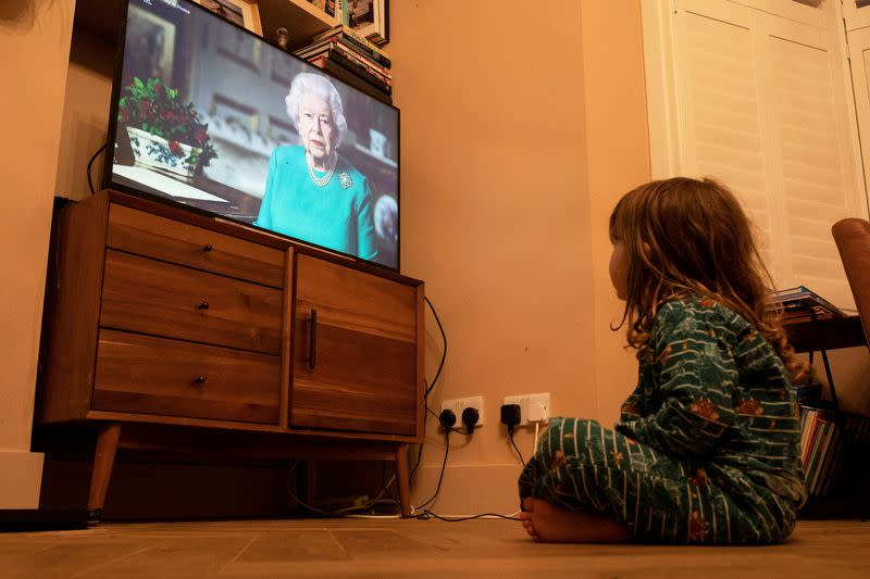 TV viewing surges during Britain's lockdown, led by streaming services