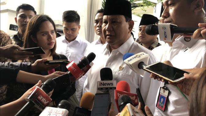 Di HUT Gerindra, Prabowo:Jangan Jadikan Partai Hanya Kendaraan Cari Jabatan