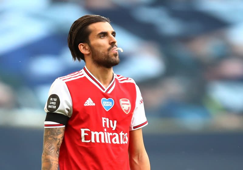 Real Madrid's Ceballos returns to Arsenal for second loan spell