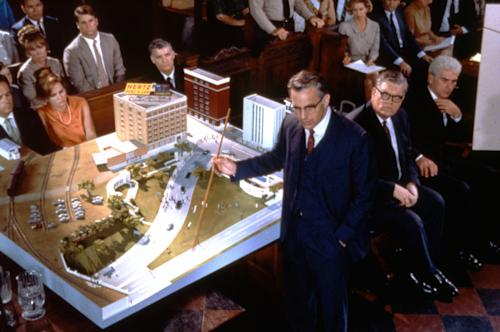 "This image provided by Warner Bros. from Oliver Stone's 1991 movie ""JFK"" shows Kevin Costner as New Orleans District Attorney Jim Garrison demonstrating the ""magic bullet"" theory. Critics say Stone's film has done more than anything to shape the public's perception of President John F. Kennedy's assassination. ""He made this kind of paranoid conspiracy theory respectable,"" says New York writer Arthur Goldwag, author of ""Cults, Conspiracies, and Secret Societies."" The movie tells the story of a New Orleans District Attorney played by Kevin Costner. Garrison remains the only prosecutor to bring someone to trial for an alleged conspiracy to kill Kennedy. (AP Photo/Warner Bros.)"