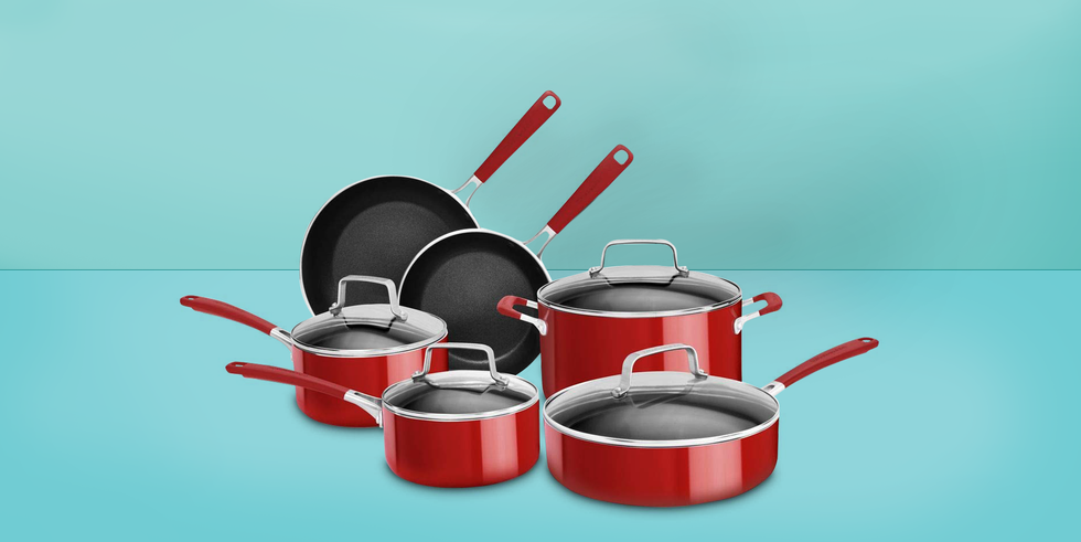 """<p>Having at least one nonstick pan is essential in every cook's kitchen, from the most professional to the very beginners. It's almost impossible to <a href=""""https://www.goodhousekeeping.com/food-recipes/easy/g428/easy-egg-recipes/"""" target=""""_blank"""">make eggs</a> without one, they make <a href=""""https://www.goodhousekeeping.com/uk/food/recipes/a535633/sea-bass-with-chorizo/"""" target=""""_blank"""">pan searing fish</a> a lot easier, and they keep <a href=""""https://www.goodhousekeeping.com/food-recipes/a15177/pancakes-recipe-ghk0213/"""" target=""""_blank"""">pancakes</a> from tearing apart in the pan. </p><p>Sometimes, nonstick pans get a bad rap, but <a href=""""https://www.goodhousekeeping.com/cooking-tools/cookware-reviews/a17426/nonstick-cookware-safety-facts/"""" target=""""_blank"""">nonstick cookware is safe</a> as long as the pieces made with Teflon are not overheated to temperatures above 500ºF. They've come a long way since they first came out and some perform just like stainless without the staining and difficult cleanup. We tested all types of nonstick pans to determine the best ones on the market.</p><p>In the <a href=""""https://www.goodhousekeeping.com/institute/about-the-institute/"""" target=""""_blank"""">Good Housekeeping Institute Kitchen Appliances and Technology Lab</a>, <strong>we fried 165 eggs, seared 50 steaks, and more to rate more than 35 new cookware lines</strong>. We tested how evenly skillets distributed heat on gas and electric ranges, how well they browned meat, and how well saucepans maintained a steady simmer and resisted scorching sauce. We evaluated how well nonstick surfaces released eggs and pancakes and how easy they were to clean. Finally, we checked how easy all cookware items were to use, including whether handles became hot to the touch and whether each piece was oven- and/or dishwasher-safe. </p><p>Our favorite nonstick pans were the ones that could do it all, from cooking an egg with no oil, to searing a steak and being able to pop it in the dishwasher after. Be"""