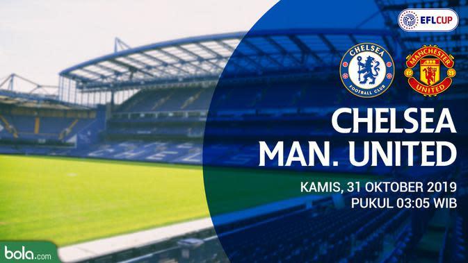 Jadwal Chelsea Vs Mu Siaran Langsung Carabao Cup